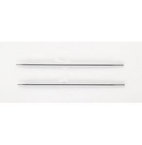 Knit Pro Nova Metal Спицы съемные для тросика 28-126 см