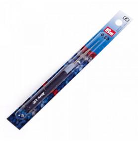 PRYM Крючок для пряжи стальной с защитным колпачком
