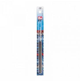 PRYM Крючок для пряжи алюминиевый с цветной ручкой